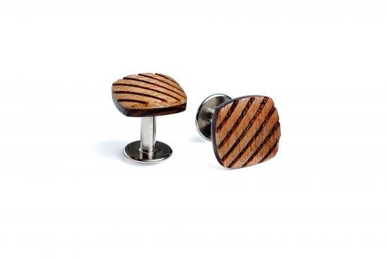 Wooden Cufflinks Sull