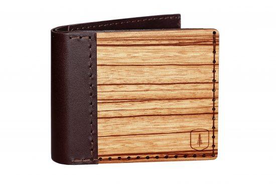 Wooden wallet Lineari