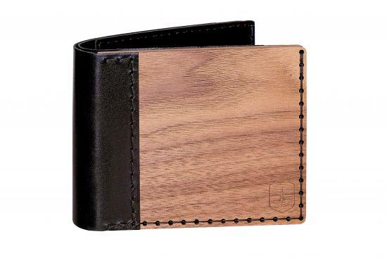 Wooden wallet Nox Virilia for men