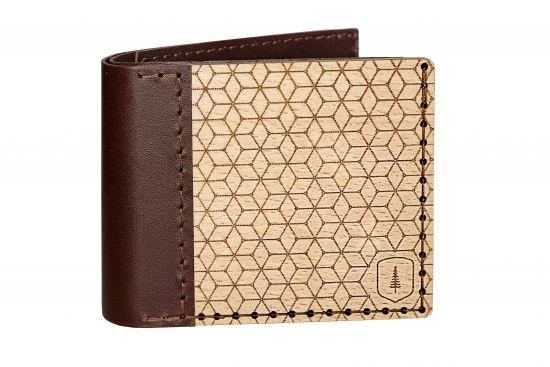 Wooden wallet Virie Virilia for men