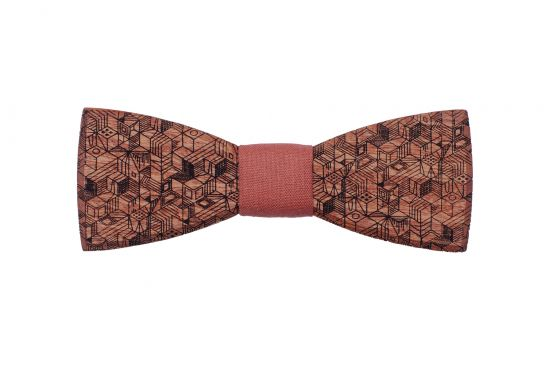 Wooden bow tie Reame