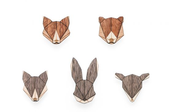 Animal Brooches Set