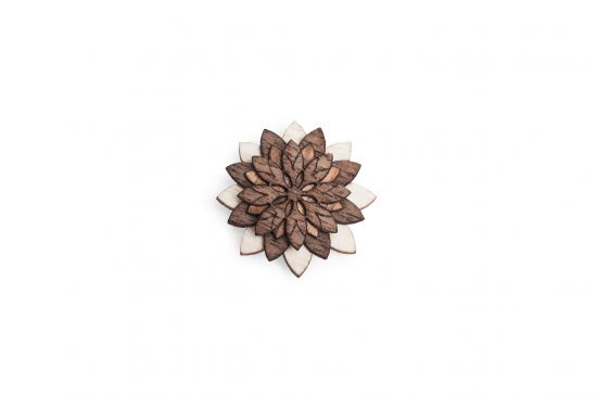Lapel ornament Illa Flower for men