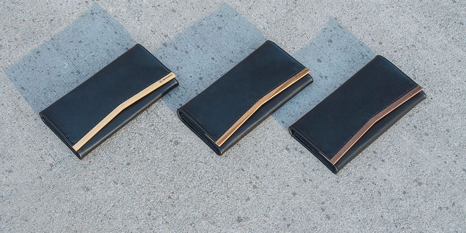 women's leather wallets BeWooden