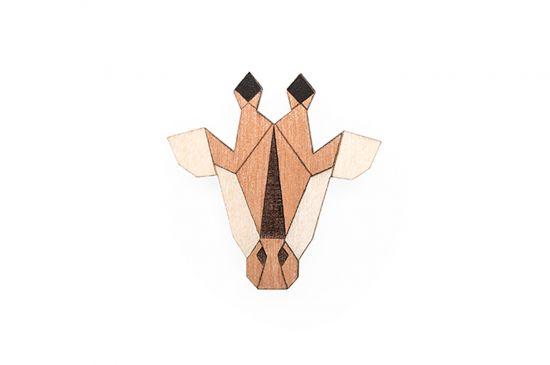 Giraffe Brooch