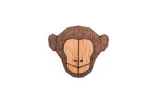 Monkey Brooch