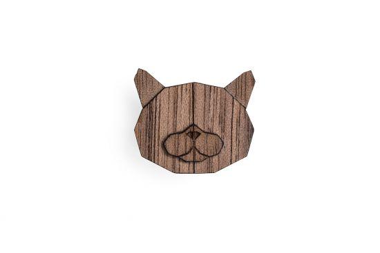 British Cat Brooch