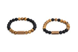 Cora & Lava Couple Bracelets