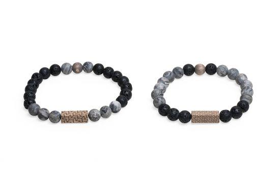 Viame & Lava Couple Bracelets