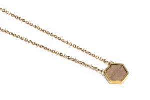 Apis Necklace Hexagon