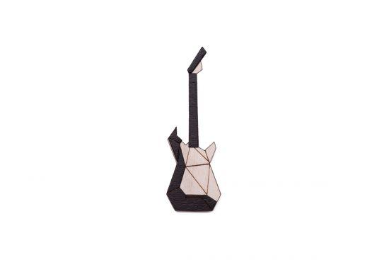 Elektromos gitár bross