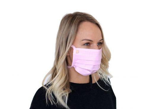 Stílusos BeWooden Rea Mask arcmaszk pamutból