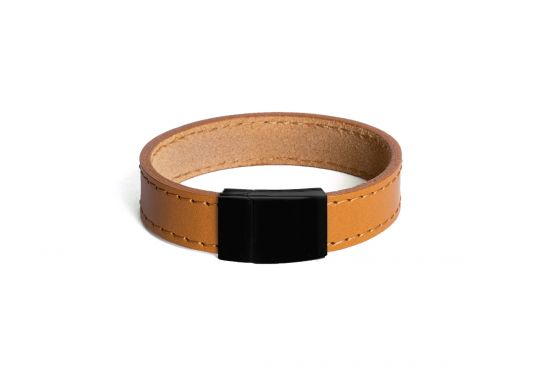 Cognac Leather Bracelet