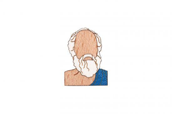 Sokrates Brooch