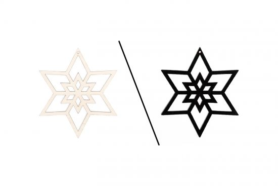 Snow Decoration 6x
